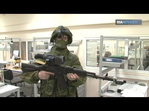 RIA Novosti - Ratnik Future Soldier System IR/Thermal Weapon Sight Testing [720p]