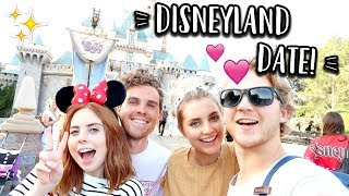 DOUBLE DATE AT DISNEYLAND!