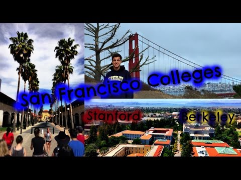College Tours: Stanford + Berkeley