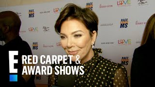 Kris Jenner Attends MS Gala Right After Welcoming 10th Grandchild | E! Red Carpet & Award Shows