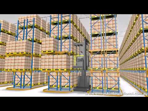 Selective Pallet Racking Emrack International Youtube