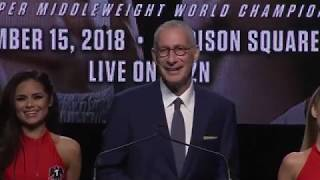 DAZN & Golden Boy Boxing Press Conference
