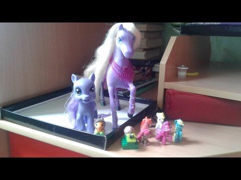 Загон для игрушечных лошадей и пони