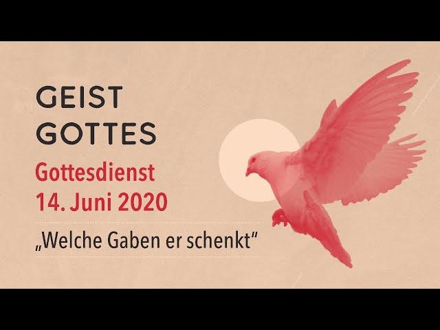 Gottesdienst der FeG Frankfurt | Sonntag 14.06.2020 | Thema: