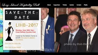Live it Up with Donna Drake and Keith Hart Hospitality Ball 2017 Baldwin Family
