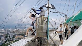 おっさんの一人旅 VIETNAM-54 タイ、ラオス、ベトナム旅行 タワージャンプとメイの付き添い