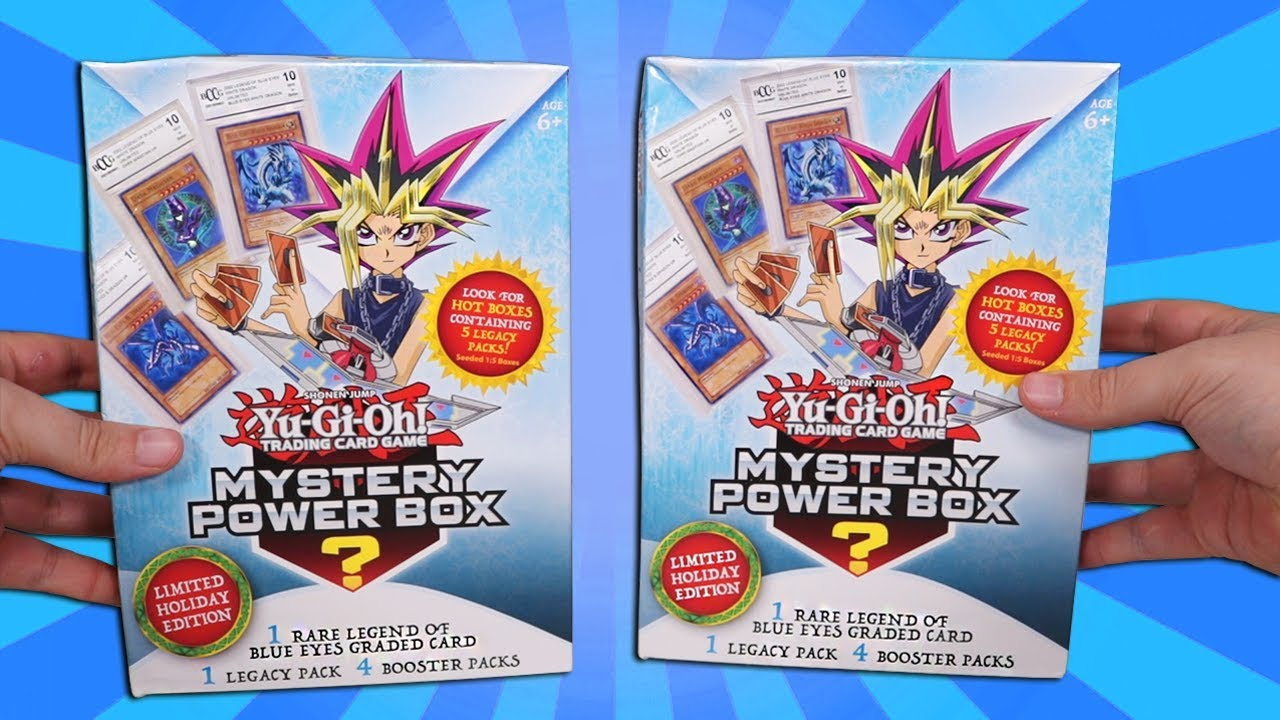 Verzamelingen Mystery Power Box Konami Yugioh Trading Game Card 3 Booster Packs Indoor Play