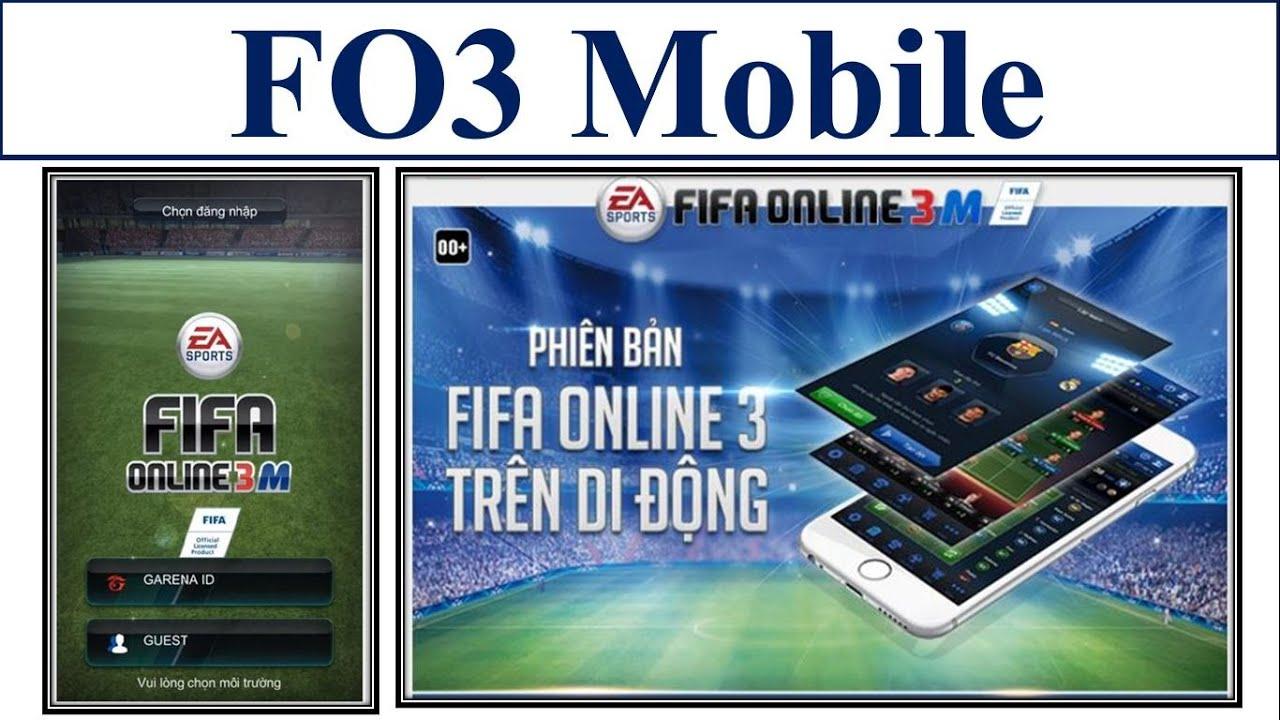 I Love FO3   Fifa Online 3 Mobile Việt Nam Với Trải Nghiệm Đầu Tiên - Part 1