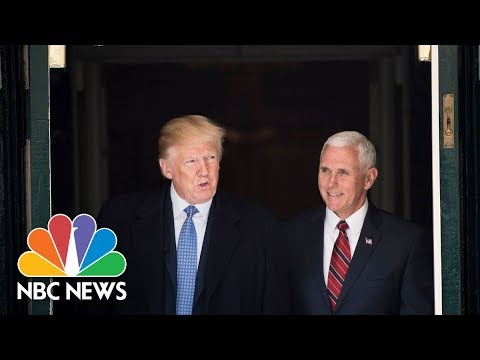 Trump, Pence rally in Indiana
