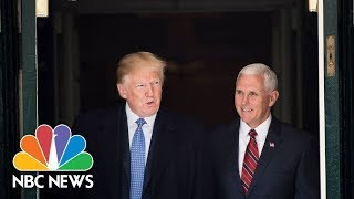 President Donald Trump And Vice President Mike Pence Rally In Indiana | NBC News thumbnail