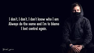 Alan Walker, Sorana - Lost Control (Lyrics) 🎵