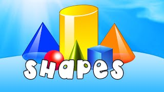 Learn Types Of Shapes - Fun & Educational for Babies, Toddler, Kindergarten Kids