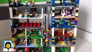 Como Construir uma ''Cidade Vertical'' de Lego!!!