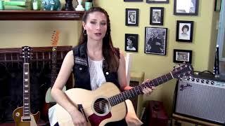 Depeche Mode-Personal Jesus-Guitar Lesson-Allison Bennett