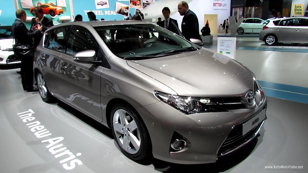2013 toyota auris exterior and interior walkaround 2012 paris auto show youtube. Black Bedroom Furniture Sets. Home Design Ideas