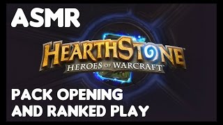 ASMR: Hearthstone Pack Opening and Mage Ranked Play