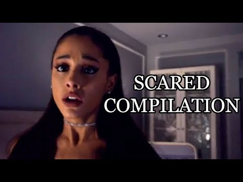 Ariana Grande Scared Compilation