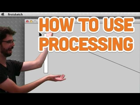 2.1: How to use Processing - Processing Tutorial
