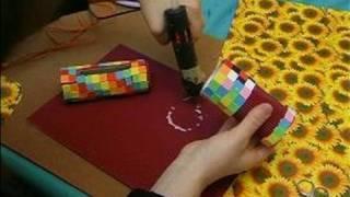 How To Make Children's Work Desks & Accessories : How To Make A Kids Note Holder: Part 2