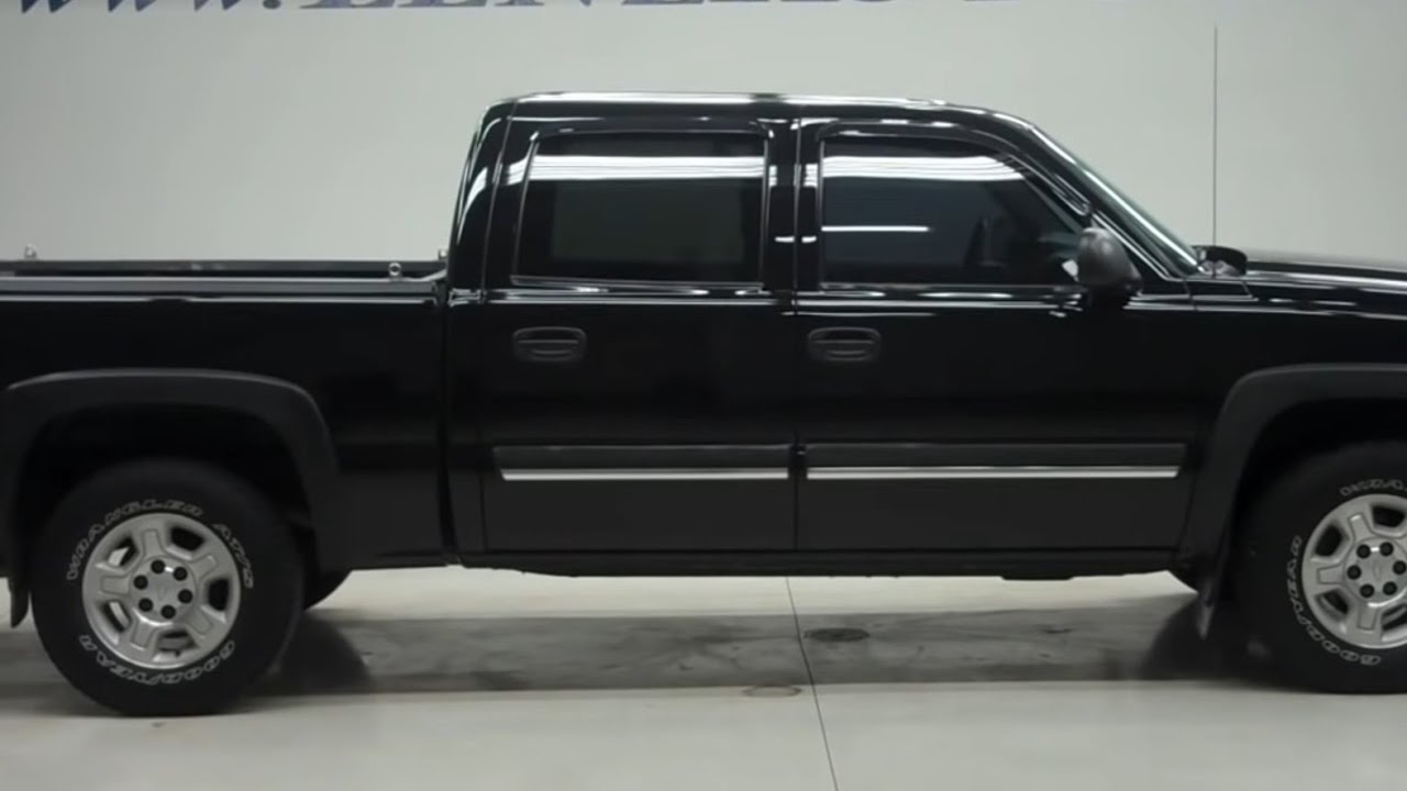 2006 chevrolet silverado 1500 crew short lt1 z71 18 997 youtube. Black Bedroom Furniture Sets. Home Design Ideas