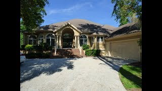Wexford Home On Hilton Head Island With Private Swimming Pool and Private 70-Foot Dock