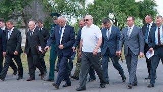 Лукашенко посетил Полесский государственный радиационно-экологический заповедник