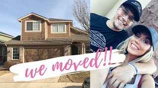 WE MOVED INTO A NEW HOUSE! MOVING VLOG PART 1