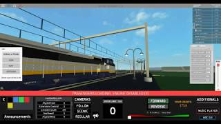 Roblox terminal Railways: Driving Amtrak California to Eldershire central (FT: Amtrak SC-44 Fan)