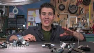 Maker Workshop - Miniature Robots on Make: television