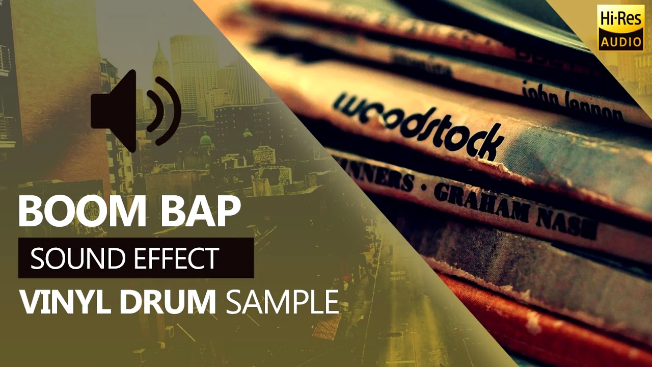 Vinyl Drum Breaks Hip Hop Sample | BurghRecords (Free Sound Effects) WAV