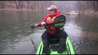 Kayak Fishing Basics: Paddling Skills for Kayak Anglers(Jeff Little explains why having good paddling skills can make you a better kayak angler. Paddle quieter and more efficiently with the forward stroke and sweep ..., 2014-05-09T16:24:12.000Z)