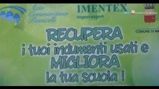 Napoli - Recupero abiti usati, a Ponticelli lezioni di riciclo (31.10.13)