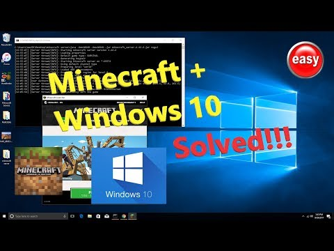 How to host Minecraft Server 1.12.2 on Windows 10 step by step PC EDITION