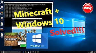 How to host Minecraft Server 1.12.2 on Windows 10 step by step PC EDITION host minecraft server free