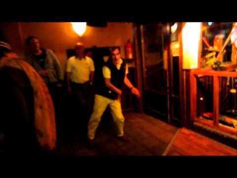 Andorra - Norrie's dance moves - Harp Pub - Soldeu