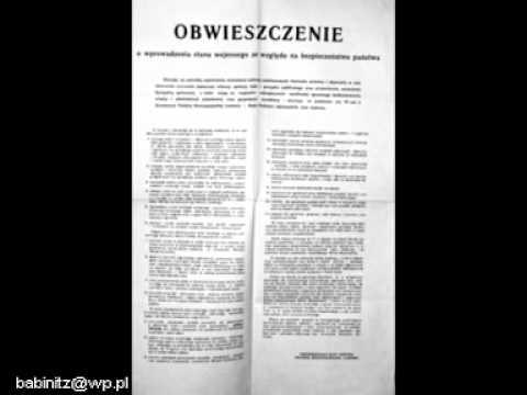 13.12.1981 komunikaty radiowe
