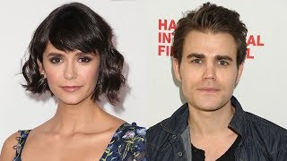 """Nina Dobrev Shares Pic Of """"Magical"""" Paul Wesley Reunion & TVD Fans Can"""