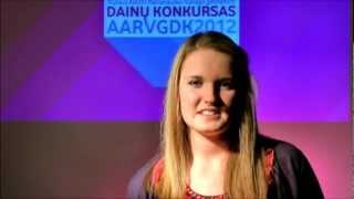 AARVGDK 2012 / 12 Indrė Kirkliauskaitė