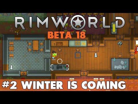 THICK SWAMP BIOME - Starting a new base #2 - Rimworld BETA 18