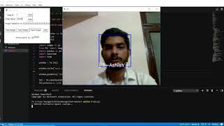 This is a working demo of opencv face recognition based attendance management system. you can mark your by just facing the camera. technology used...