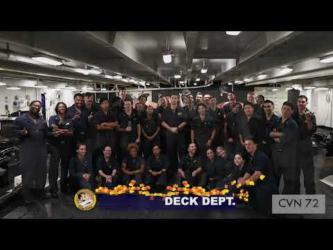 Happy Thanksgiving From USS Abraham Lincoln!