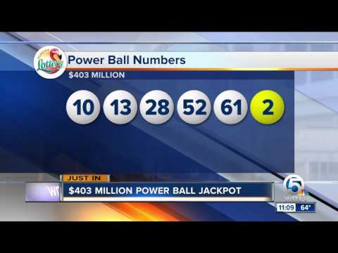 Powerball numbers: Did you win Wednesday's $403 million jackpot?