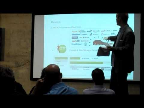 V12 Software @ Startup Monthly's Demo Pitch Coaching