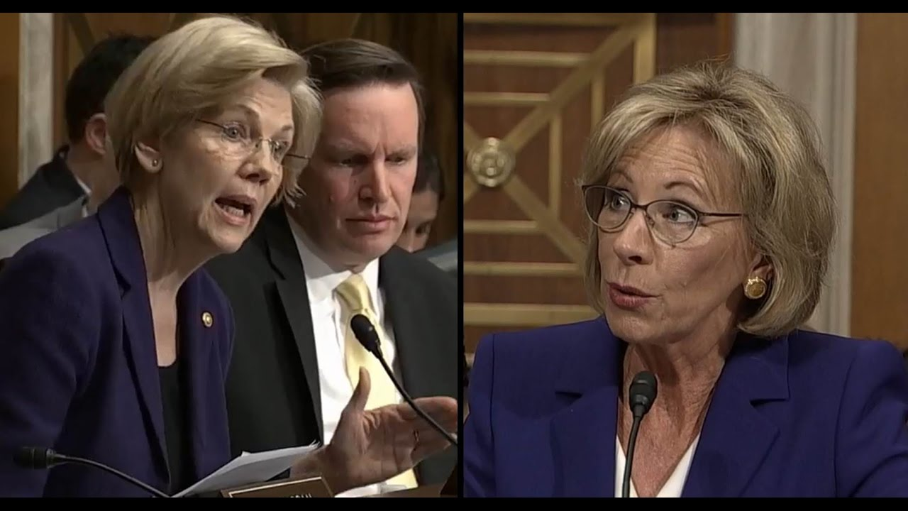 Image result for DeVos Watch, Year One: Failing America's Students