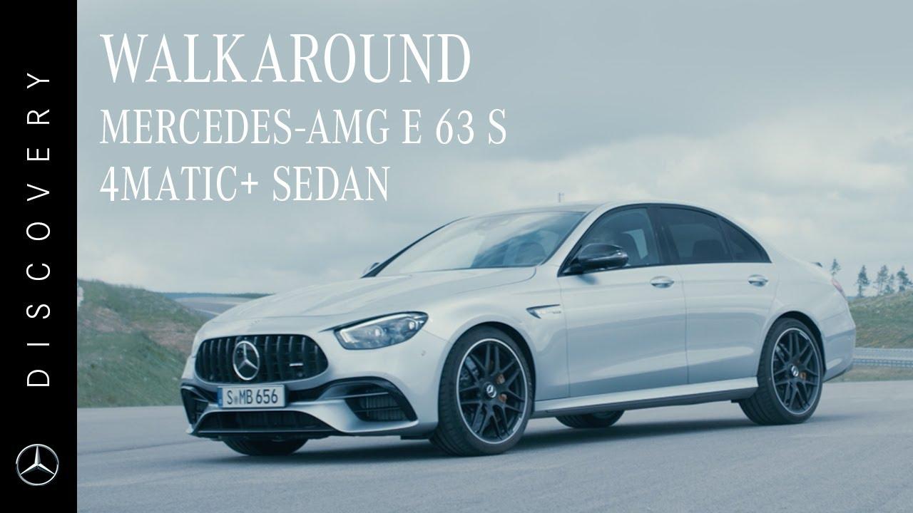 Walkaround   Mercedes-AMG E 63 S 4MATIC+ Sedan
