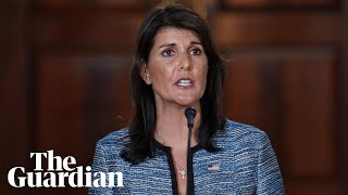 Nikki Haley: US will lead on human rights outside 'misnamed' UN council