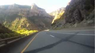 Riding Colorado Eagle to Glenwood Springs