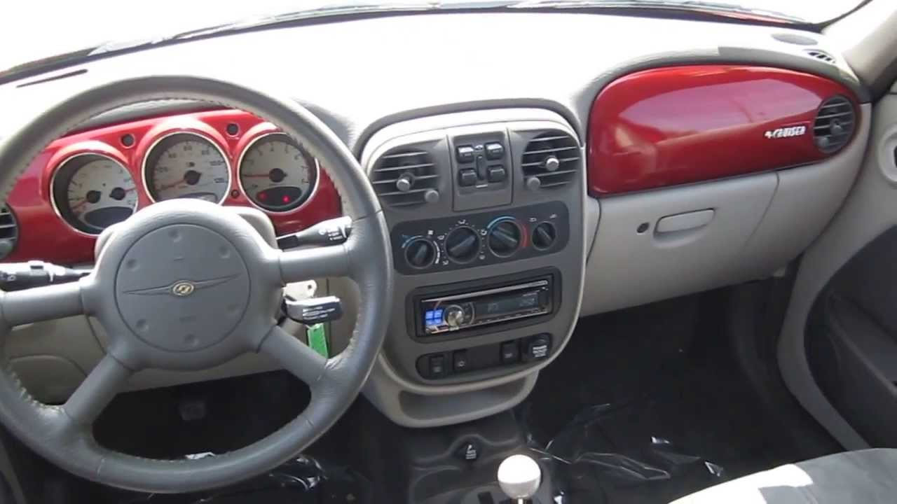 2001 Chrysler PT Cruiser, Red   STOCK# 6319A   Interior