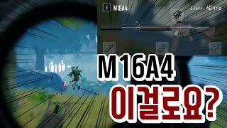 똥총 전문 윤서리 (with. M16A4) ∥ 배틀그라운드 #30