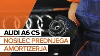 Oglejte si video vodič, kako zamenjati Šipka stabilizatorja na AUDI A5 (F53)